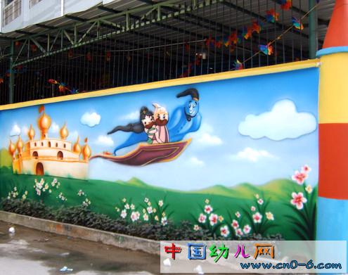 超级幼儿园外部设计:水彩的世界