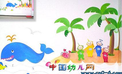 幼儿园照片墙展示