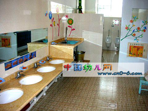 幼儿园洗手间设计-环境布置
