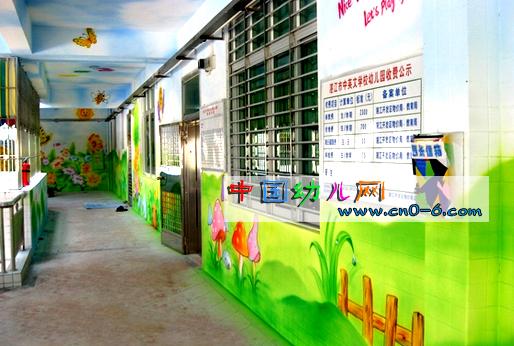 幼儿园走廊设计:绿色天堂-环境布置