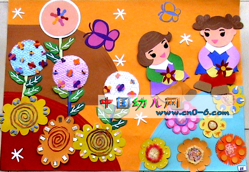 幼儿园墙面设计:我们都是好娃娃