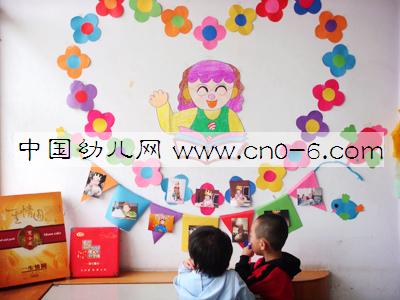 幼儿园小班墙面布置:我爱读书