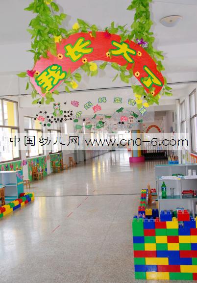 幼儿园走廊吊饰布置:我长大了