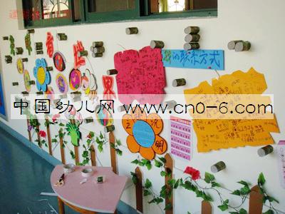 幼儿园走廊吊饰布置:亮眼看世界图片