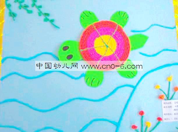 幼儿园中班美术作品内容幼儿园中班美术作品图片