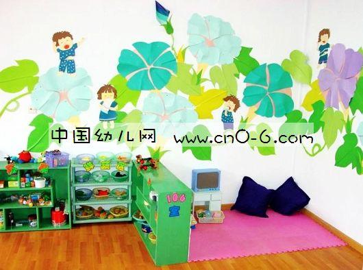 幼儿园中班活动室布置欣赏