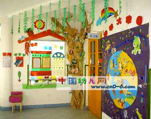 幼儿园办公室墙面设计图片展示