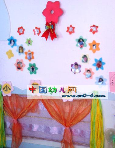 明星宝宝墙贴(幼儿园墙面布置)