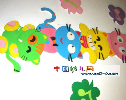 可爱的小兔子主题墙