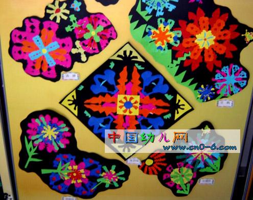 色彩斑斓的手工制作展示(手工布置设计)
