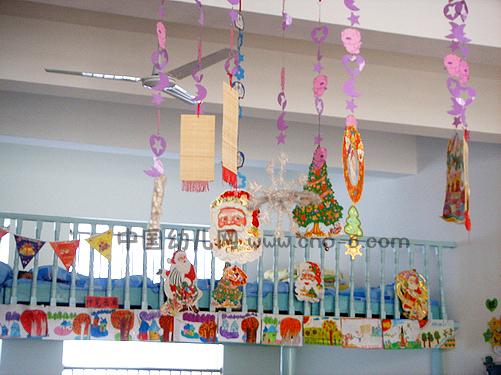 幼儿园圣诞装饰_圣诞节快乐(幼儿园圣诞节布置)-环境布置