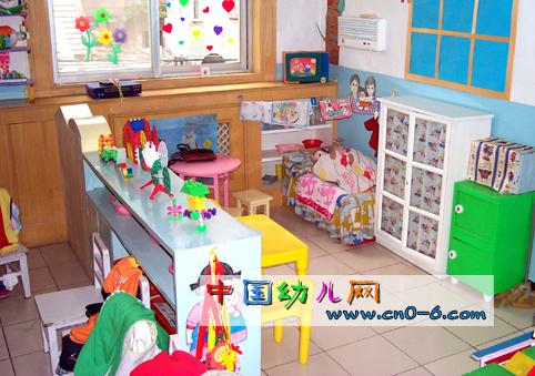 我家的装饰(幼儿园活动一角)