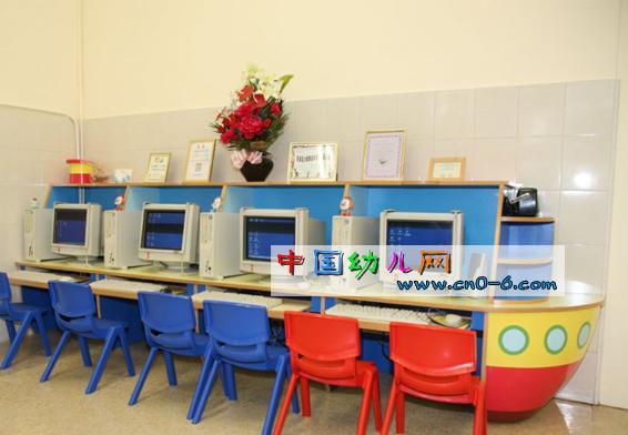 温馨微机室(幼儿园活动一角)-环境布置