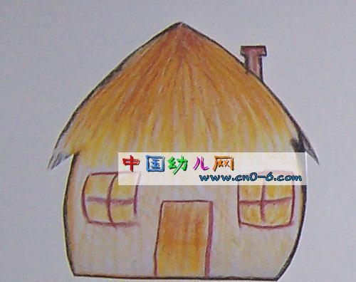 简单造房子(幼儿园手工设计)