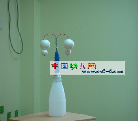 自制简单小台灯(幼儿园环境布置)
