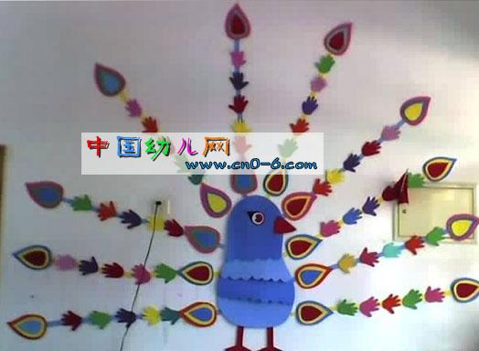 幼儿园窗户布置图片