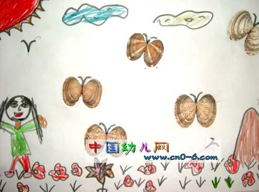 儿童手工制作小岛