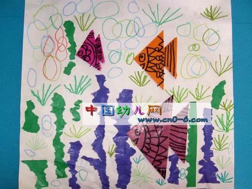 鱼宝宝出游记(幼儿园环境创设)