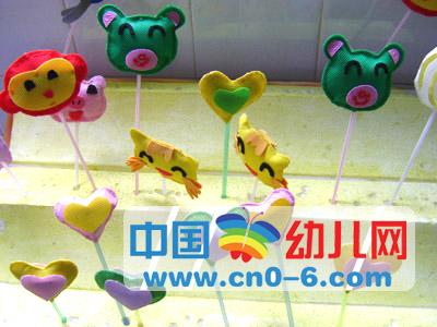 幼儿园创意立体吊饰动物