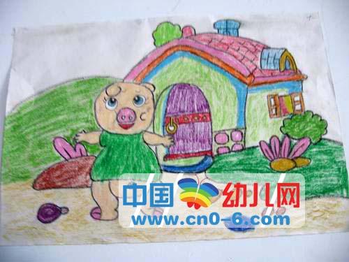 小猪的新家(幼儿园环境布置)