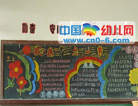 板报(幼儿园环境布置)图片