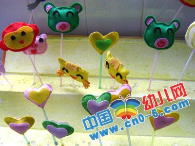 动物爱心头像(幼儿园环境创设)-环境布置