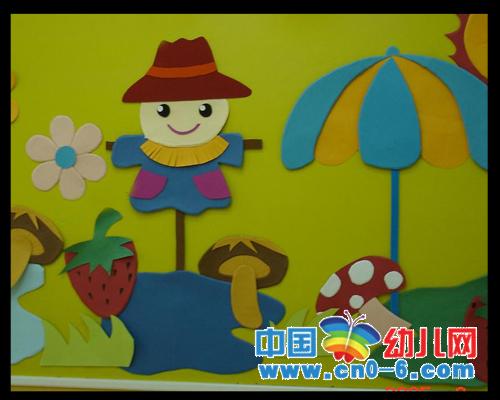 稻草人的冬天(冬季幼儿园环境布置)
