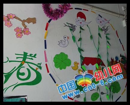 幼儿园教室布置动物图片