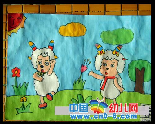 布置 踏青/中国幼儿网感谢石家庄小麦芽幼儿园环境布置幼儿园踏青环境布置...