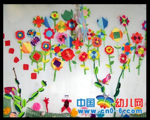 幼儿园六一主题墙图片;图片