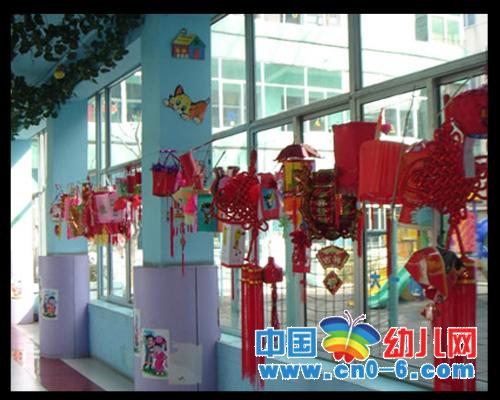 新年到了(春节幼儿园环境布置)