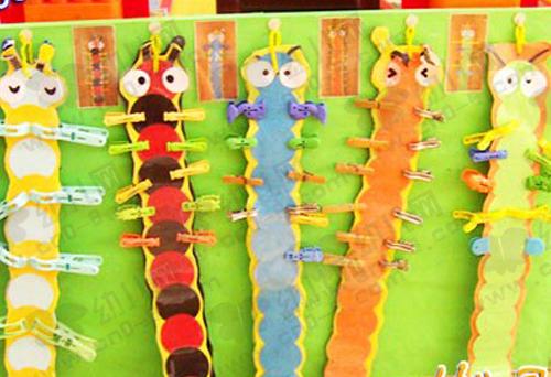 秋天的毛毛虫(2013幼儿园秋天环境布置)