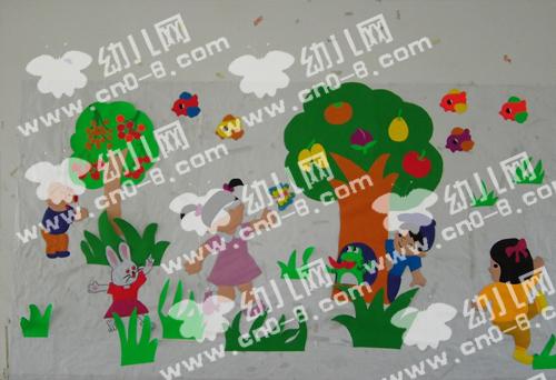 秋天,一个丰收的季节(幼儿园环境布置)